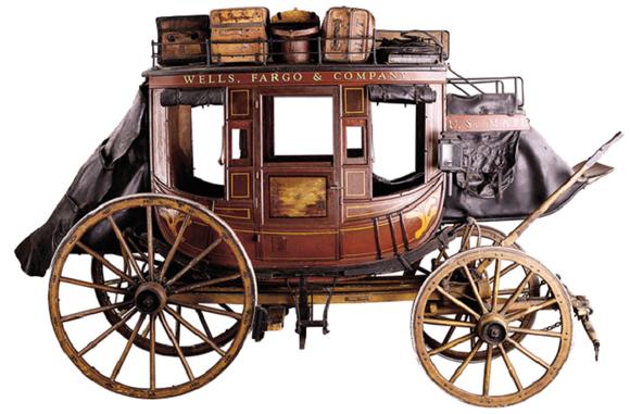 Wells Fargo Stagecoach.