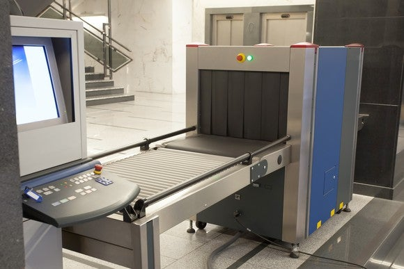 Airport security scanner