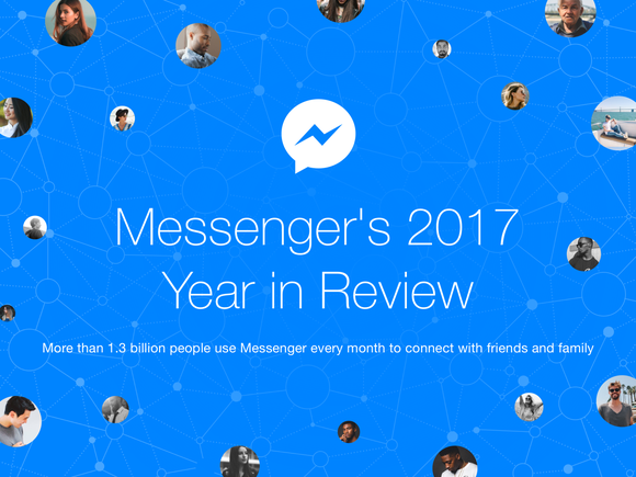 Banner for Messenger's 2017 Year in Review