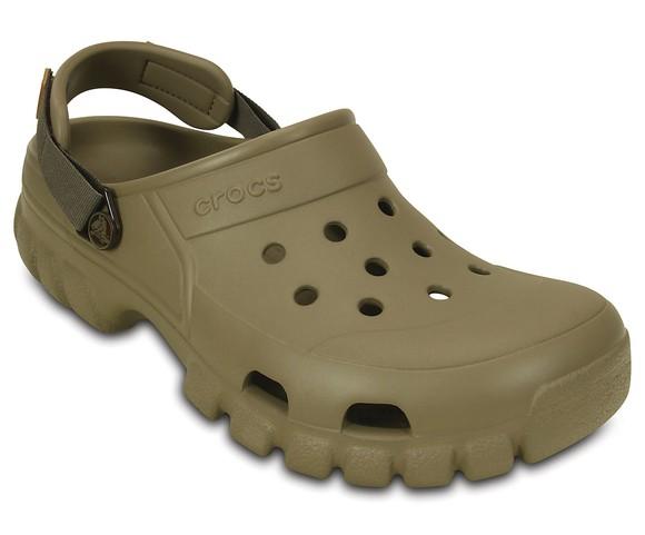 A Crocs clog.