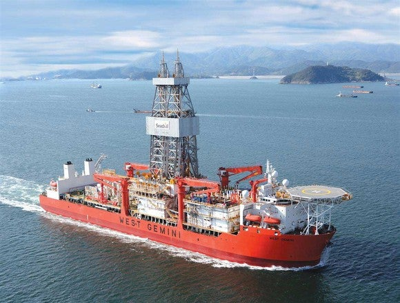 Seadrill West Gemini drillship.