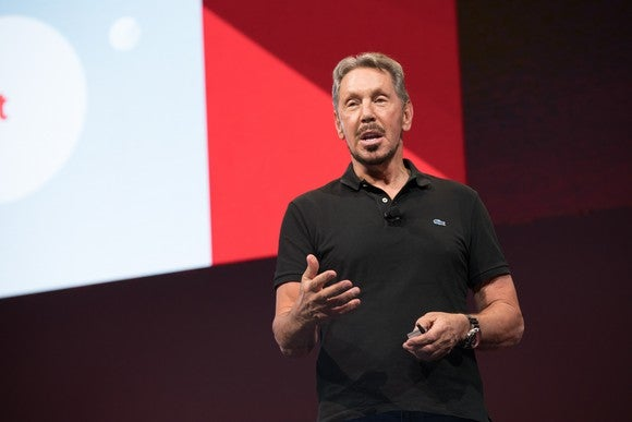 Oracle executive chairman Larry Ellison.