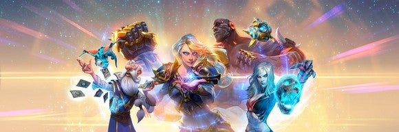 Sample graphic of four Blizzard Entertainment game characters