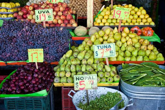 Latin American bazaar