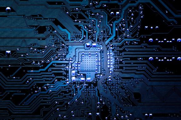 An electronic circuit board