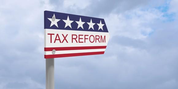 Tax reform flag
