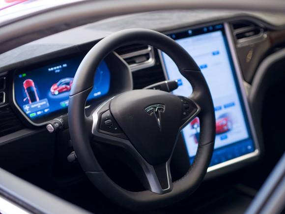 Tesla Model S interior