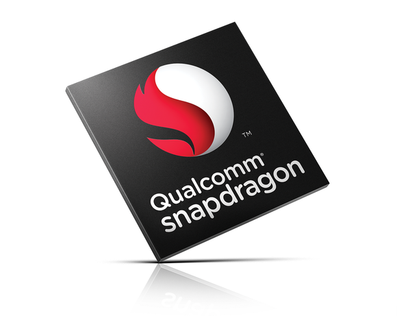 A rendering of a Qualcomm Snapdragon chip.
