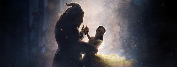 A scene from Beauty and the Beast.