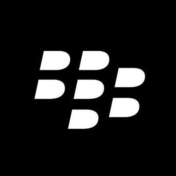 BlackBerry logo.