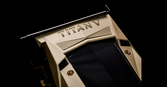 NVIDIA's Titan V Graphics Card.