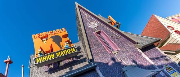 Minion Land at Universal Studios.