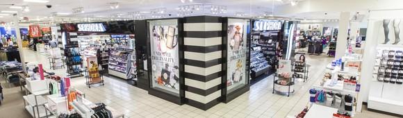 A Sephora boutique inside a J.C. Penney store