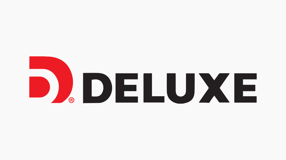 Deluxe logo.