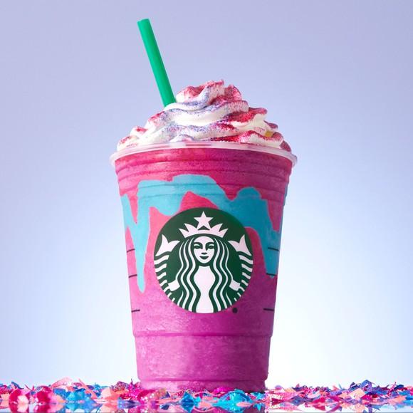 A Unicorn Frappuccino.