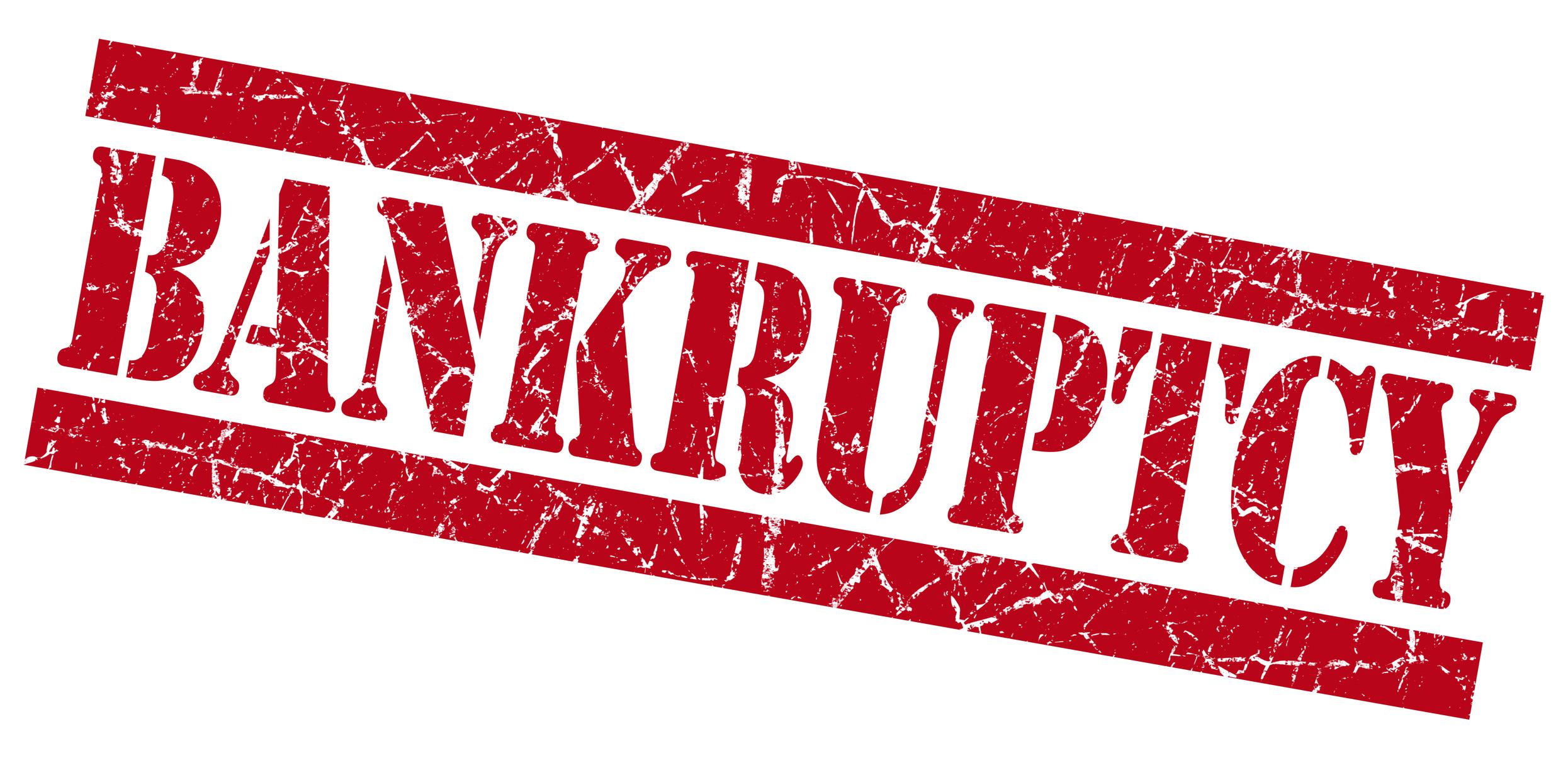 Image result for bankruptcy
