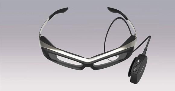 Sony's SmartEyeglass.