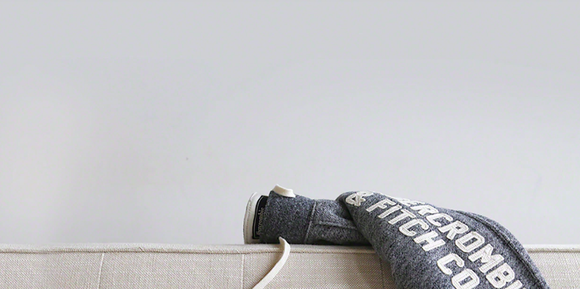 Abercrombie & Fitch logoed sweatshirt