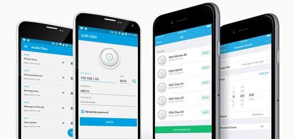 Ubiquiti's mobile announcement app for its UniFi products.