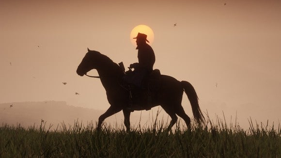 A screenshot from the upcoming Red Dead Redemption 2.