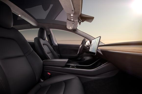 Interior of Model 3