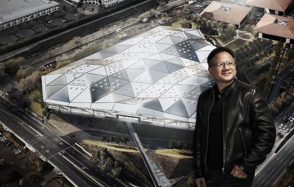 NVIDIA CEO Jensen Huang.