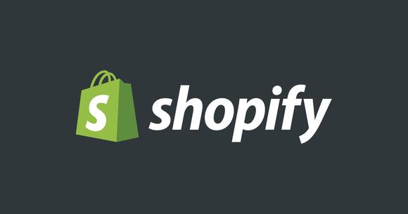 Shopify logo.