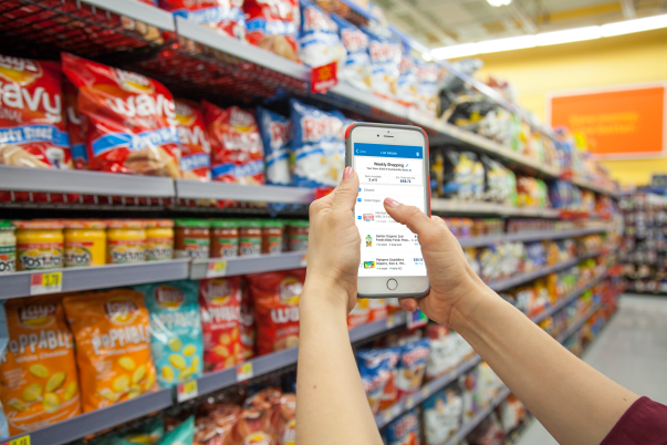 walmart s app now supports in store shopping the motley fool