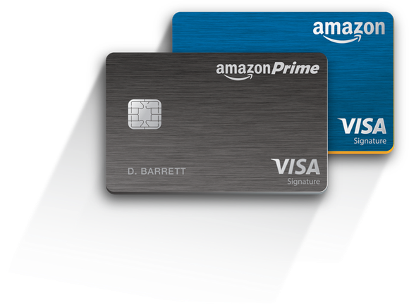 Amazon Prime Visa credit cards