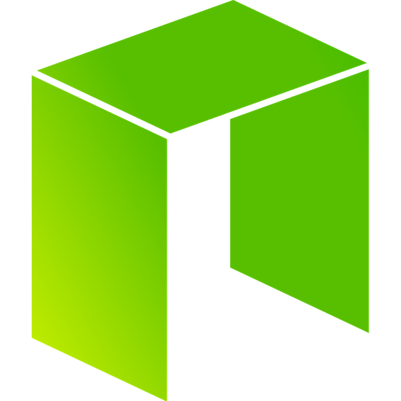 The NEO project's logo: a stylized lower-case N in hues of yellow and green.