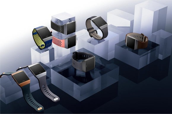 Fitbit's Ionic smartwatch.