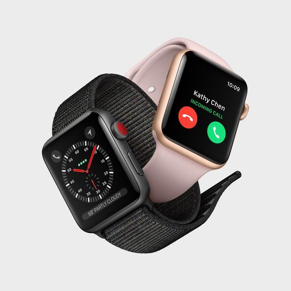The Apple Watch 3.