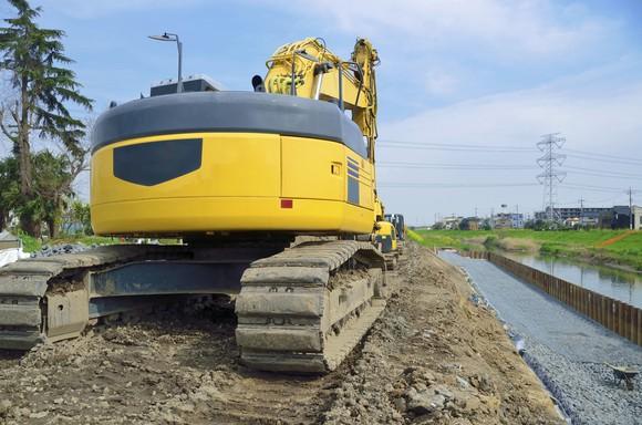 Excavator machine