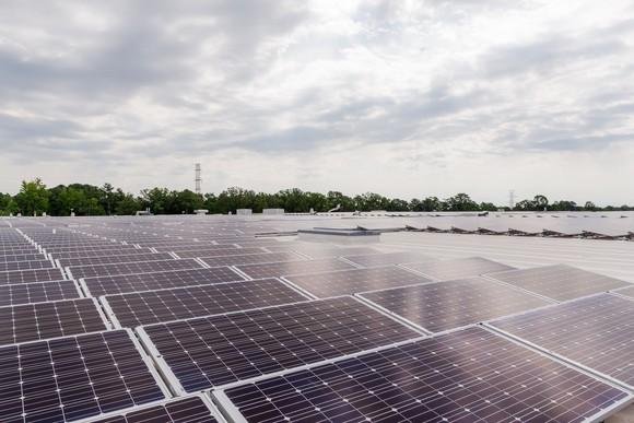 Dominion Energy solar array.