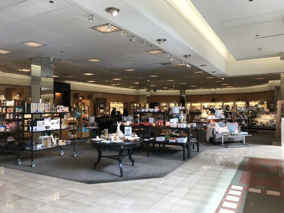 The home section at Nordstrom's Arden Fair Mall store