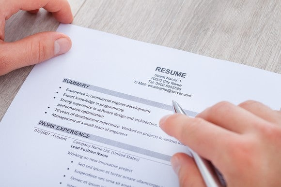 How Far Back Should You Go on a Resume The Motley Fool