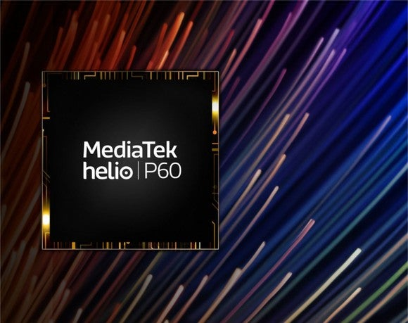 MediaTek's Helio P60 SoC.