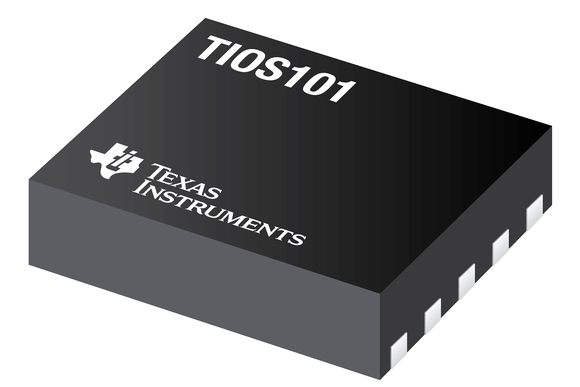Texas Instruments TIOS101 chip.