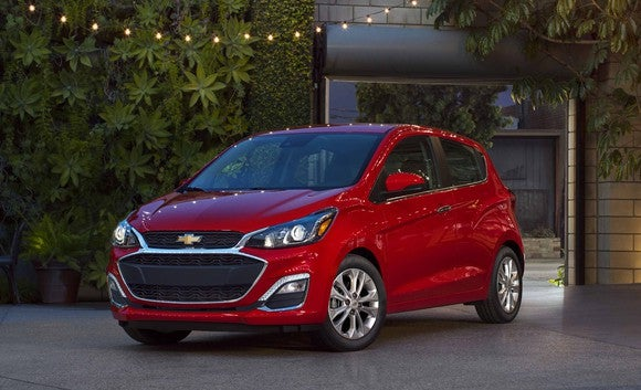 What general motors is really doing with its small and big cars a red 2019 chevrolet spark a very small hatchback reheart Image collections