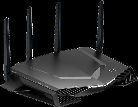 Netgear 500 Nighthawk router with four antennas