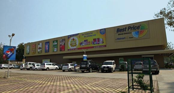 Walmart's Best Price stores in India.