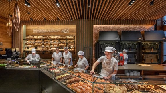Princi bakery at Starbucks Roastery