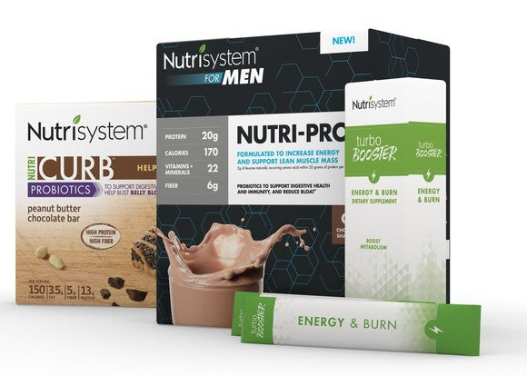 Nutrisystem products for men