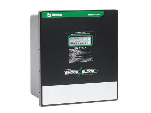 A Littelfuse Industrial Shock-Block SB6100