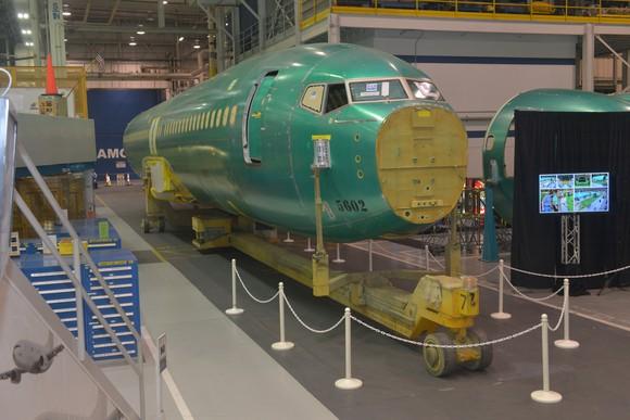 737 fuselage