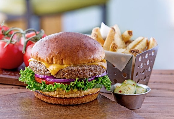 The Chili's Old-Timer burger.