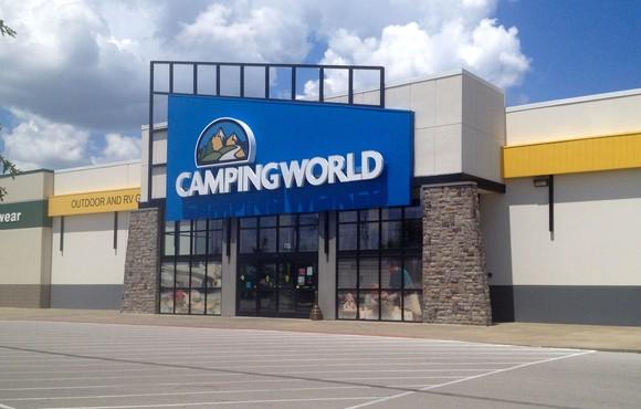 Camping World storefront