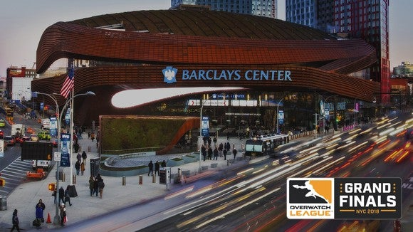 Barclays Center arena in Brooklyn