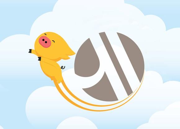 Logo with Fliggy mascot and Marriott symbol.