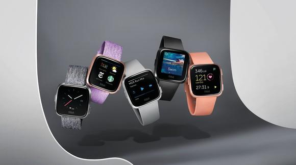 Fitbit's Versa smartwatches.